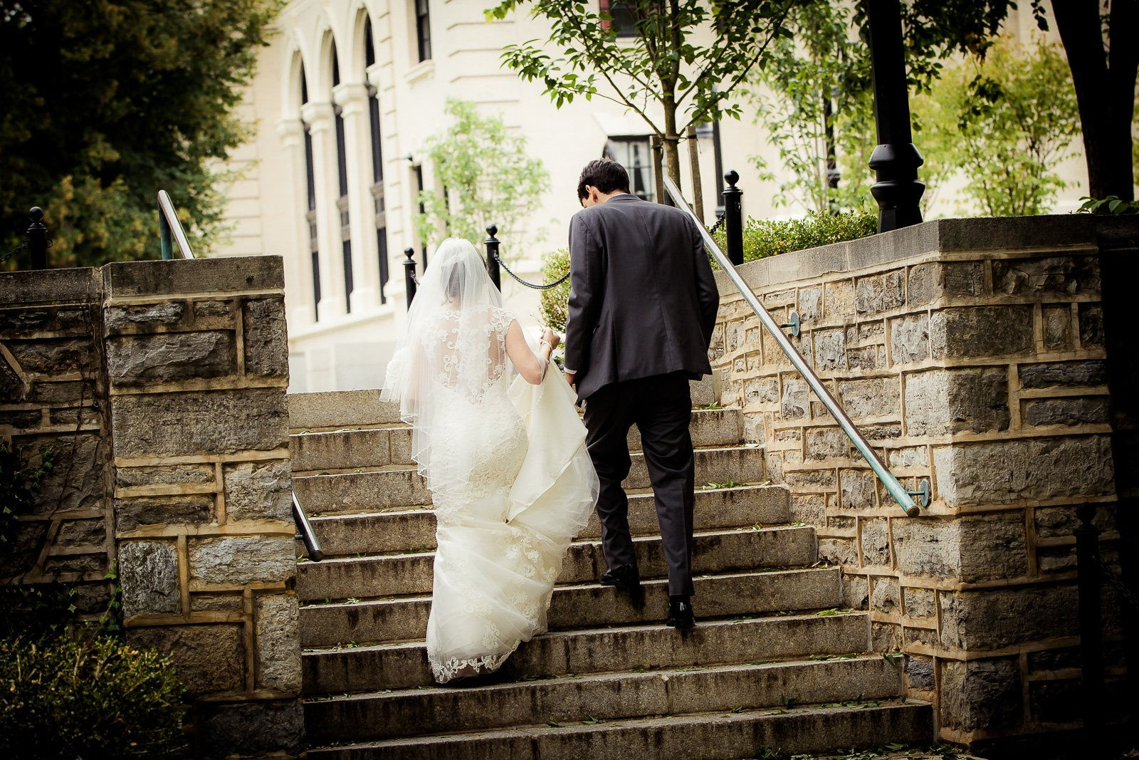 Penn State Wedding At Old Main